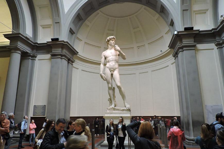 Galleria dell'Accademia David di Michelangelo