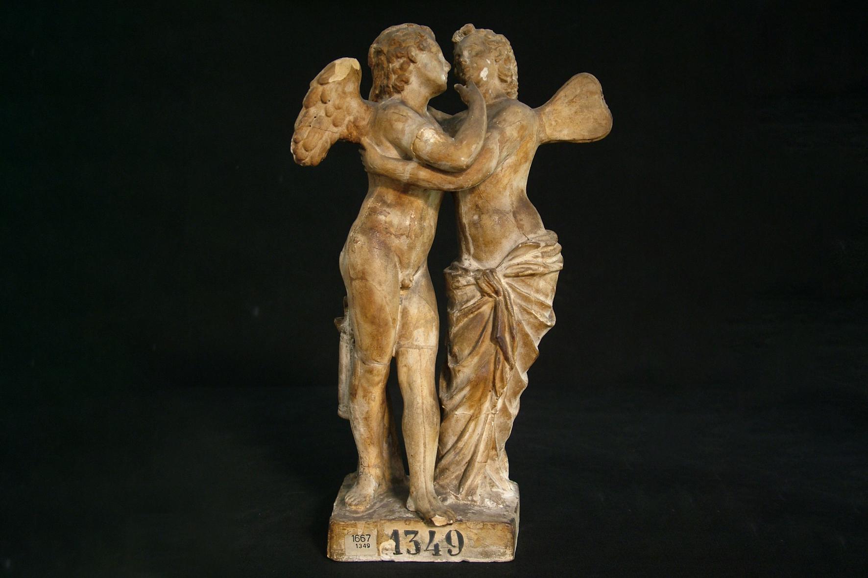 MD_Amore e Psiche, 1746, gesso, dal marmo antico della Galleria degli Uffizi inv. 1687 (1)