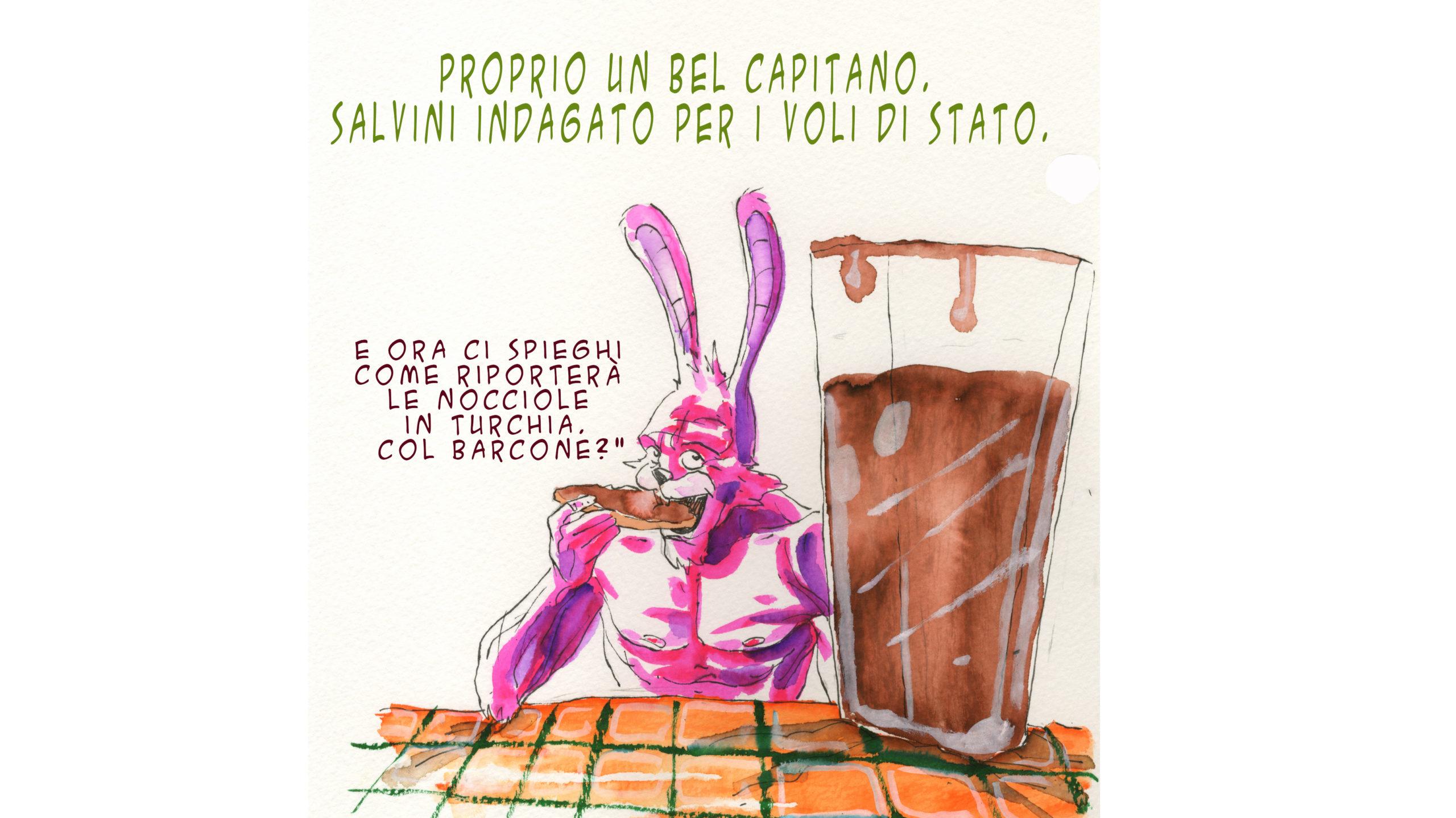 Lepus Furens Salvini e Nutella