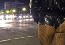 Prostituta da dietro