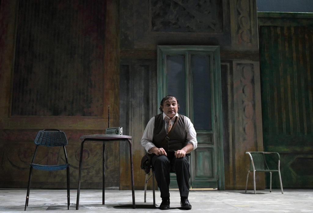 Natalino Balasso è Arlecchino al Teatro della Pergola di Firenze