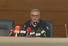 Angelo Borrelli nella Conferenza stampa sul coronavirus