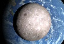 La faccia nascosta della Luna e la Terra - Foto Nasa