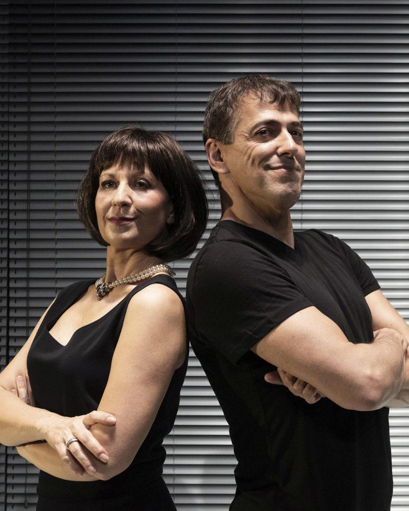 Tre Rotture, Monica Bauco e Riccardo Naldini