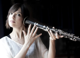 Zoe Pia al clarinetto