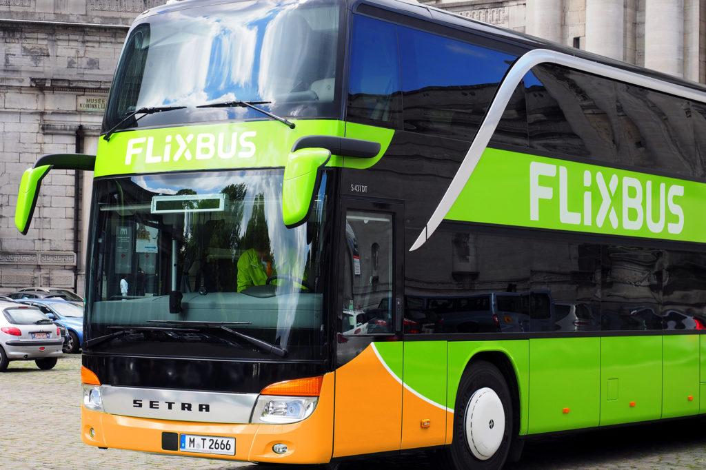FlixBus da Prato all'Europa e viceversa