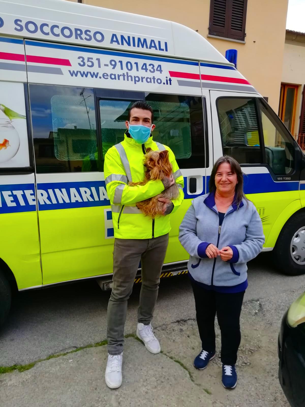 Ercole e l'ambulanza veterinaria