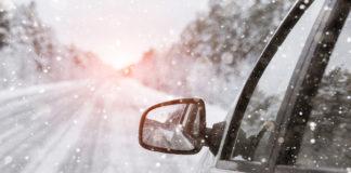Auto sulla neve