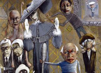 Copertina: Particolare di un'opera di Sergio Vacchi