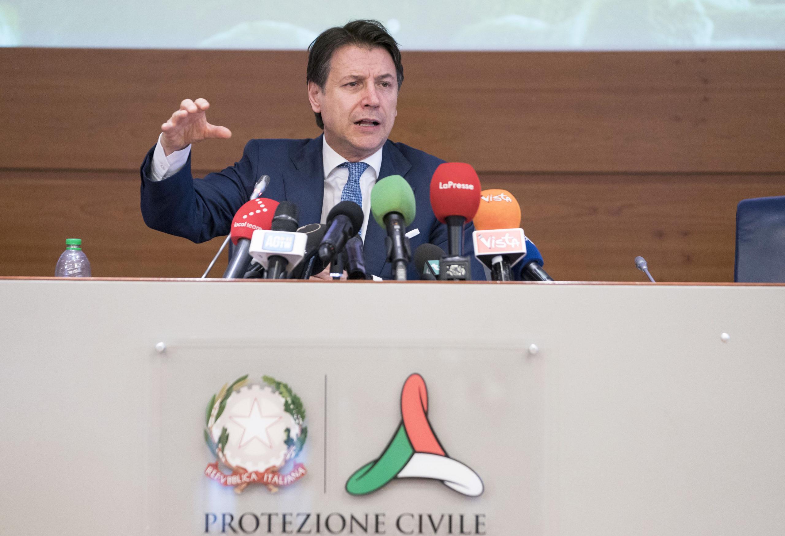 Giuseppe Conte (foto della Presidenza del Consiglio dei Ministri)