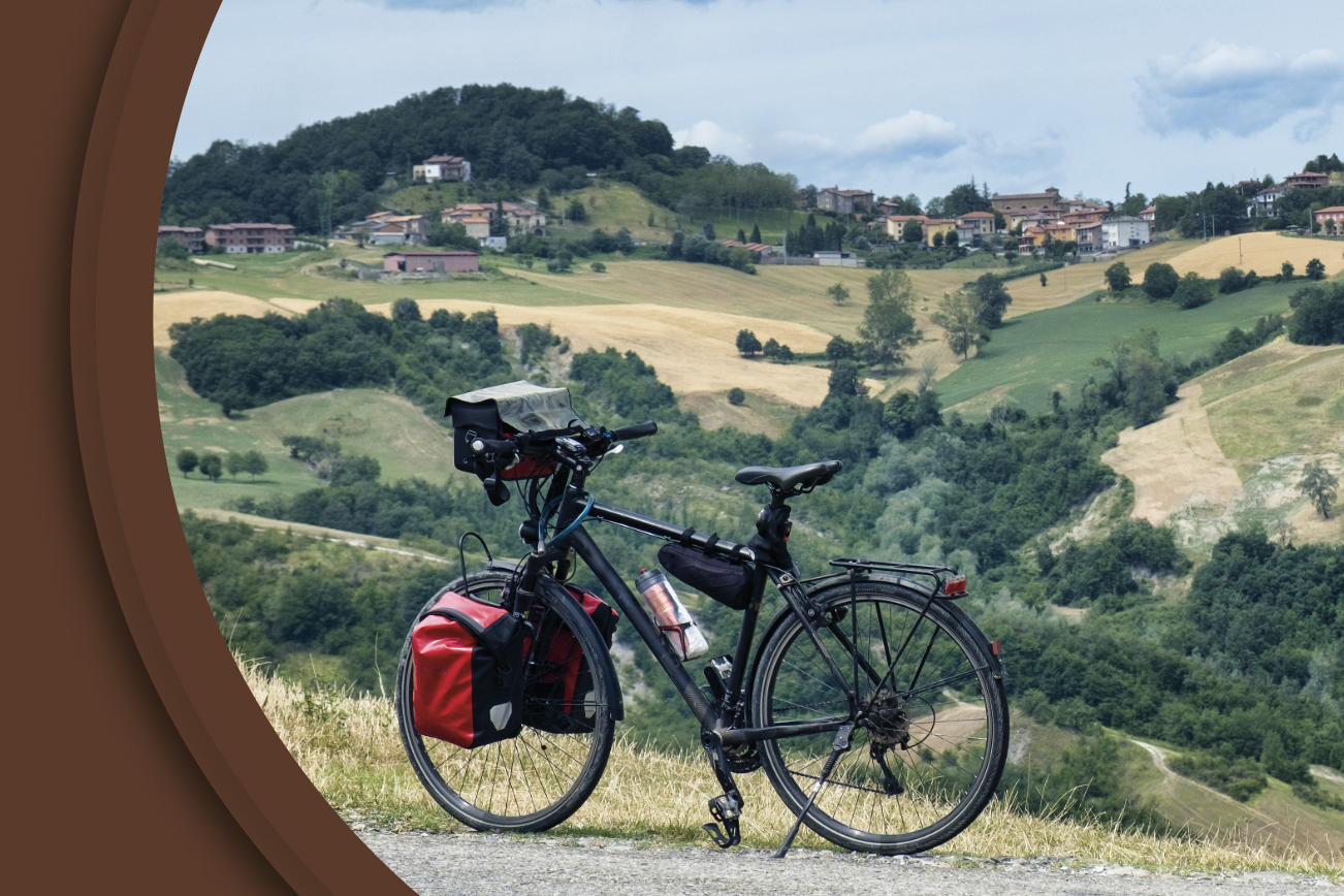 Romea in bicicletta