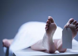 Cadavere in obitorio