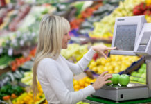 Pesa le mele sl supermercato