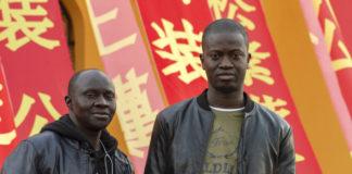 Senegalesi al capodanno cinese di Prato