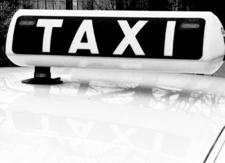Taxi insegna