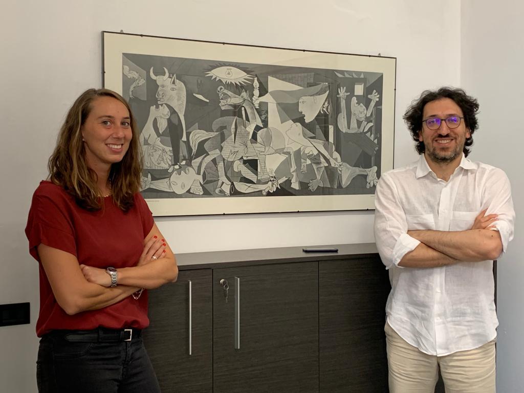 Irene Mangani e Andrea Passoni
