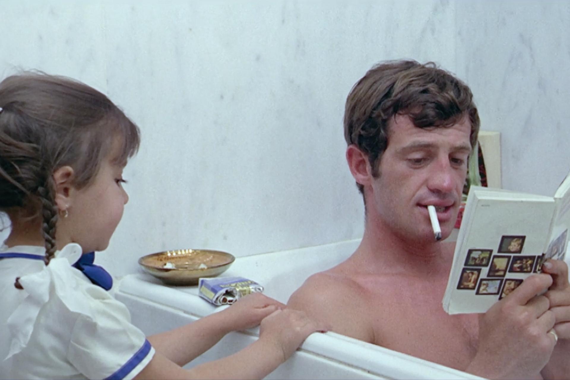 Pierrot le Fou - una scena dal film di Godard del 1965