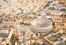 Un modello dell'antica Roma