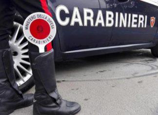 La gamba del carabiniere con la paletta