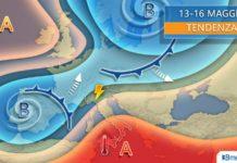 Il meteo dei prossimi giorni: caldo africano al sud e instabilità al nord