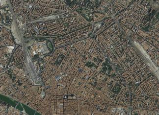 Foto aerea di Firenze