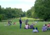 Relax sul parco della villa reale di Monza