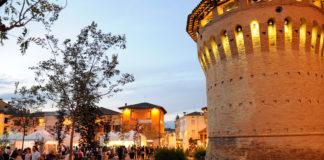 La Rocca di Forlimpopoli durante la festa artusiana
