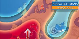 L'anticiclone porta caldo torrido sull'Italia