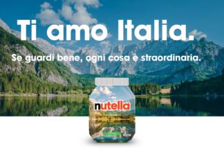 Nutella Ti Amo Italia - i vasetti di nutella dedicati all'italia