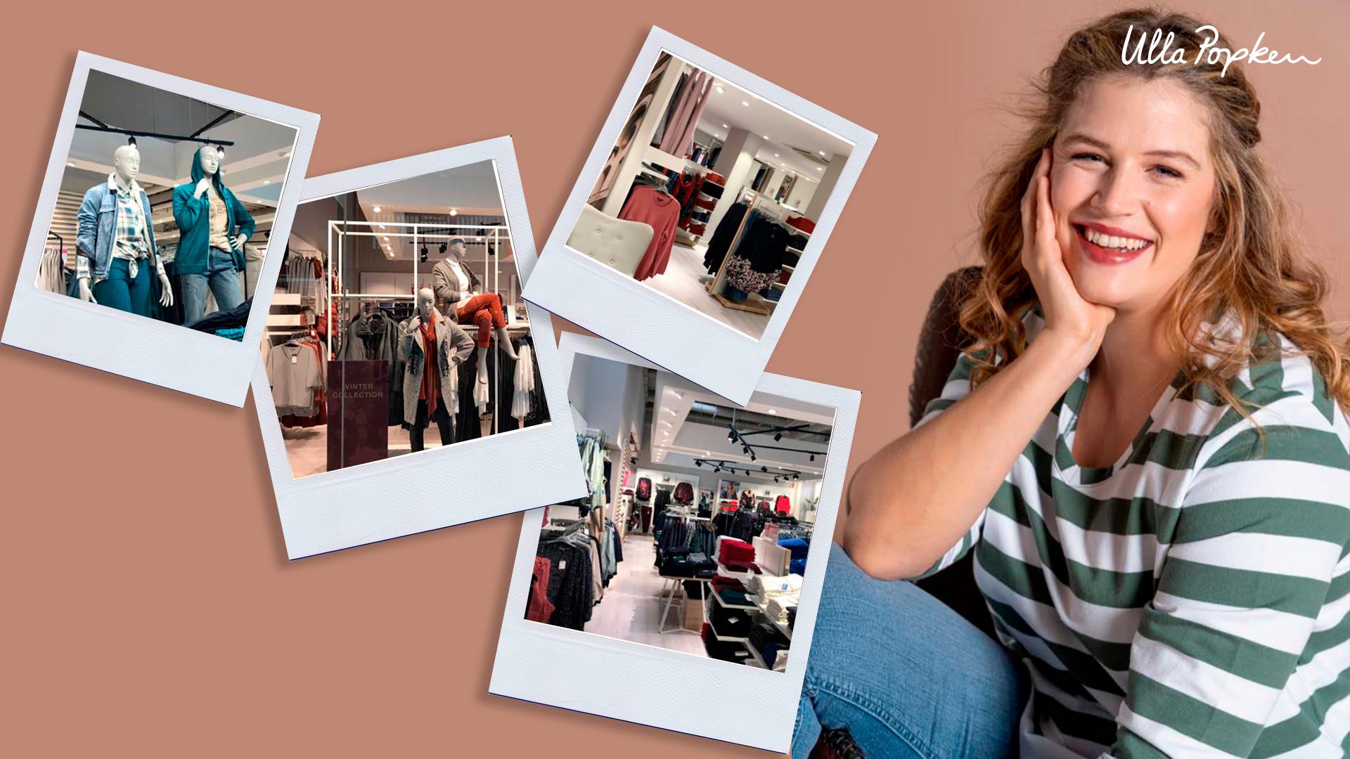 Ulla Popken immagine finale della campagna affidata a The Digital Project