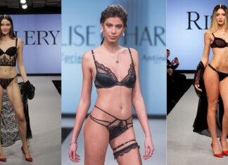 Tre modelle in lingerie sexy