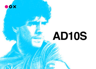 Maradona ad10s by Inedita