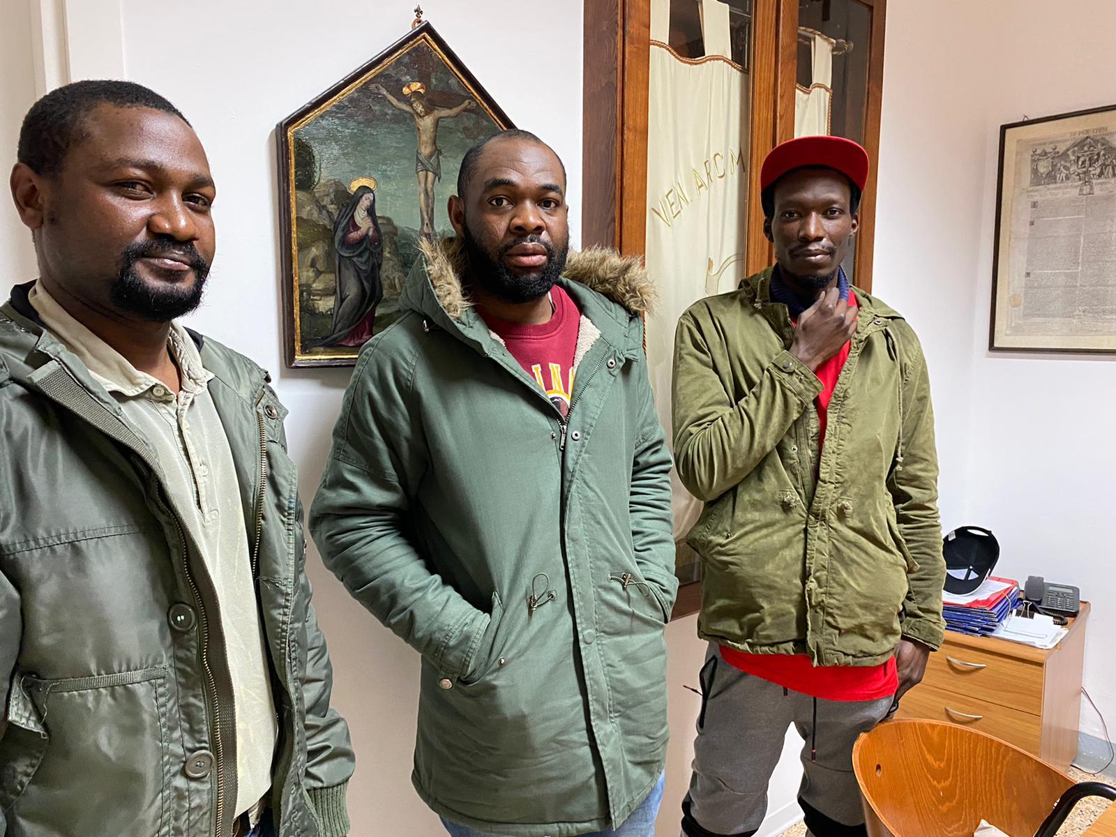 I tre migranti nigeriani di Certaldo
