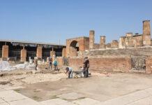 Indagini archeologiche nel foro di Pompei