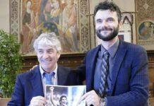 Paolo Rossi e il sindaco di Prato Matteo Biffoni