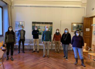 Foto di gruppo del nuovo Cda Fondazione Polis