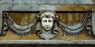 Siena - Chiesa di San Raimondo al Refugio - particolare