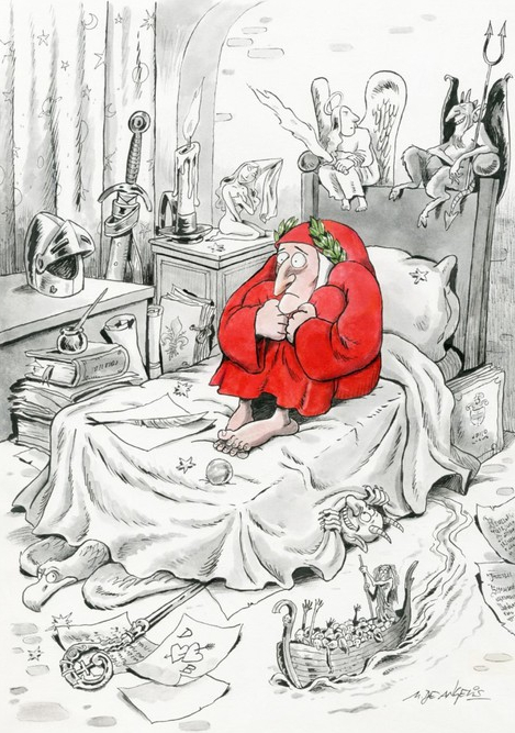 Dante di Staino per Luccautori