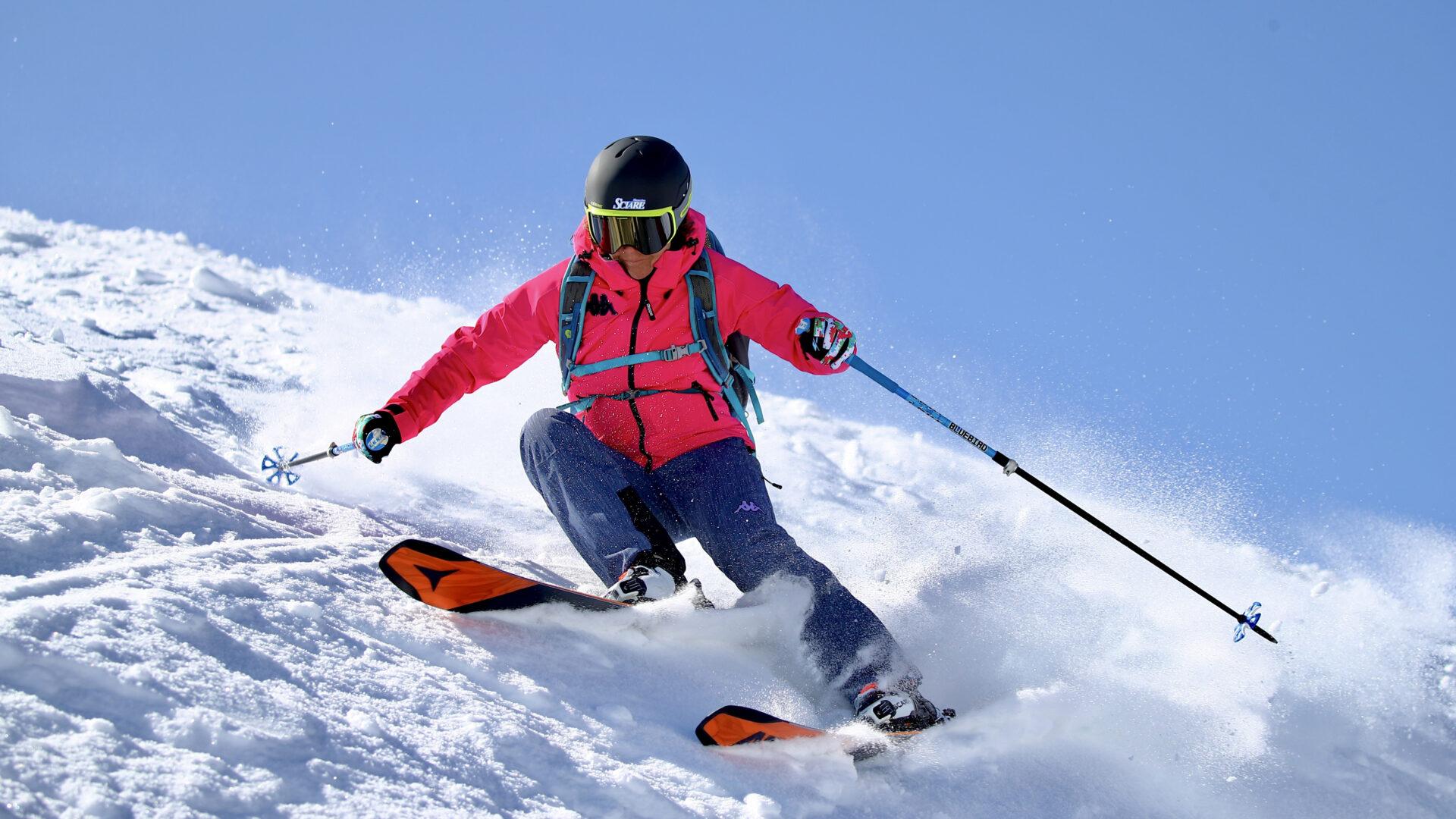 Sabrina Zunino sugli sci