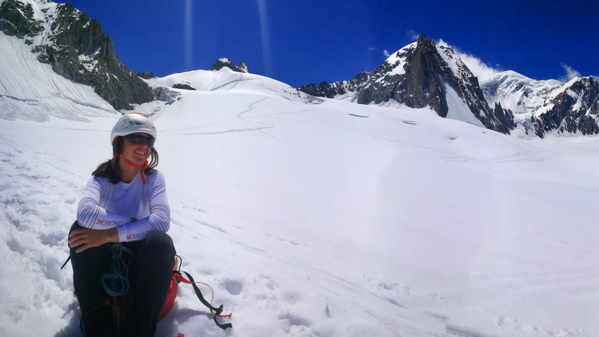 Sabrina Zunino sulla neve