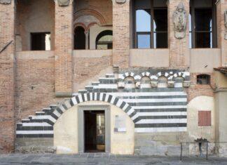 L'antico palazzo dei vescovi a Pistoia