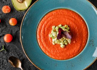 Gazpacho e pomodoro