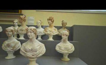 Screenshot dal filmato della Galleria dell'Accademia