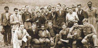 Partigiani d'Oltremare, la foto di gruppo in copertina