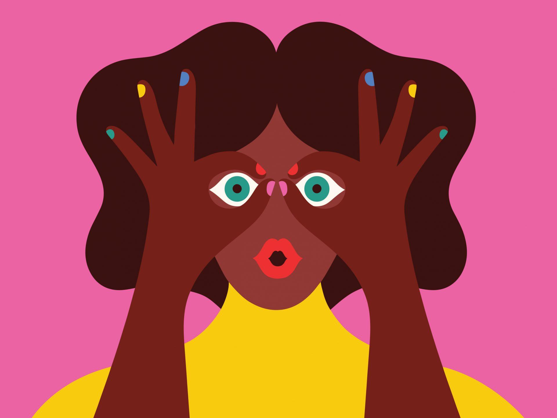 Senza titolo - Illustrazione realizzata per Warby Parker