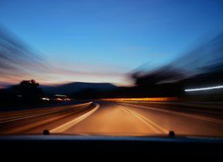 asphalt road timelapse photography