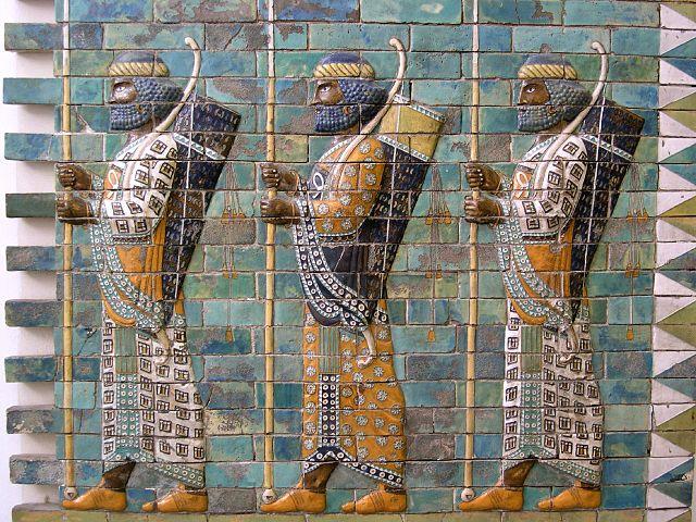 640px persian warriors from berlin museum