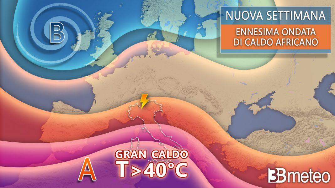 nuova settimana meteo italia