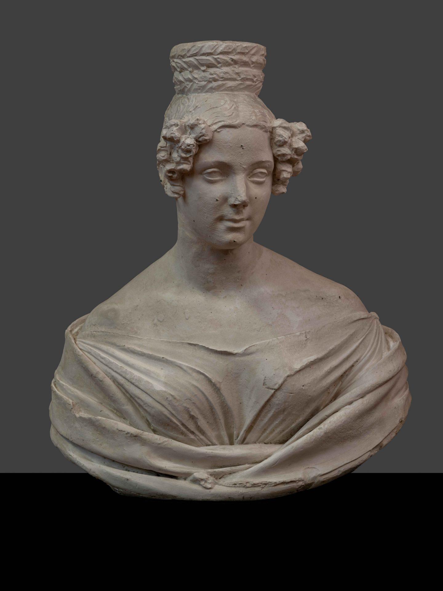 inv. scult. 1551 busto femminile. ph. a. quattrone aqtt0875