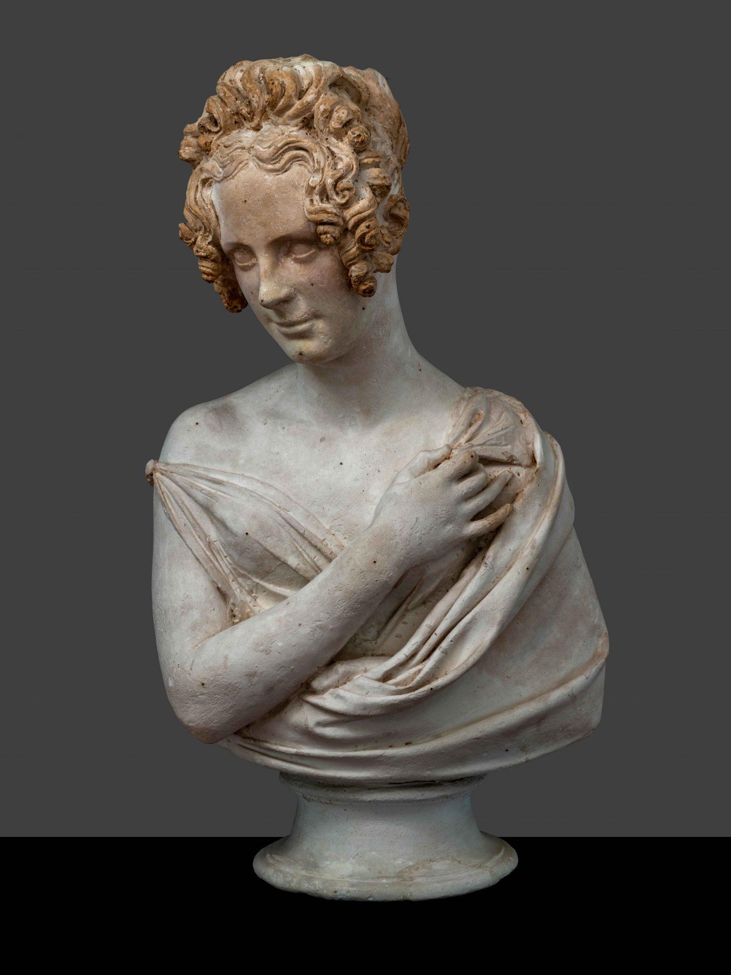 inv. scult. 1569 busto femminile. ph. a. quattroneaqtt1057